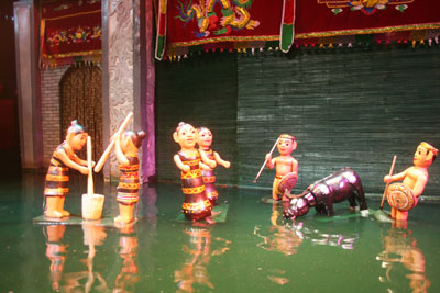 Rối nước sứ giả của văn hóa Việt Nam