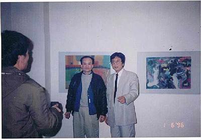 Triển lãm tại pháp năm 1996 - Họa sĩ Vương Duy Biên
